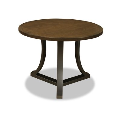 Eleonore Pub Table Top Finish: Dry Smoke, Size: 42 H x 48 L x 48 W