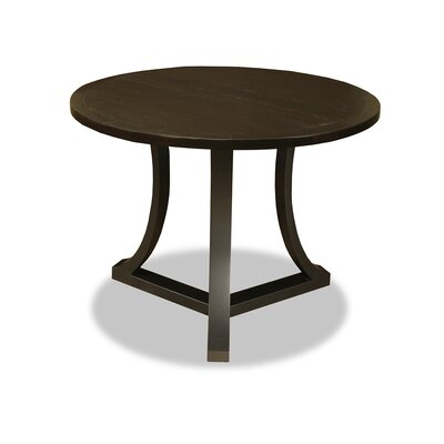 Eleonore Pub Table Top Finish: Dry Walnut, Size: 42 H x 42 L x 42 W