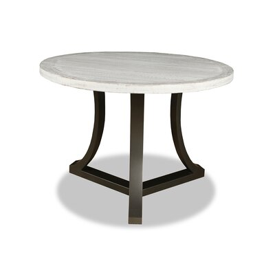 Eleonore Pub Table Top Finish: Dry White, Size: 42 H x 42 L x 42 W
