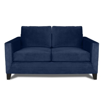 Cannes 60 Sofa Upholstery: Blue