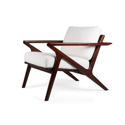 Hinesburg Arm Chair Upholstery: White