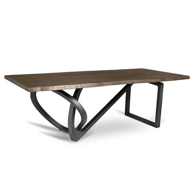 Milano Dining Table 96 Finish: Smoke