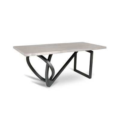 Milano Dining Table Finish: White