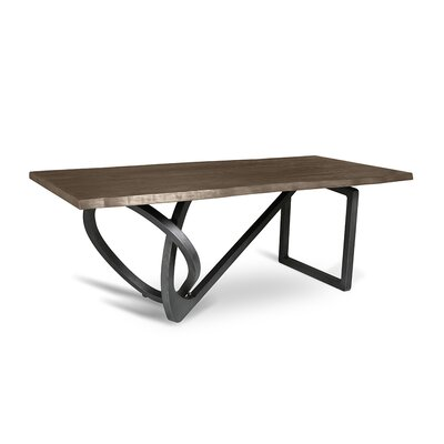 Milano Dining Table 84 Finish: Smoke