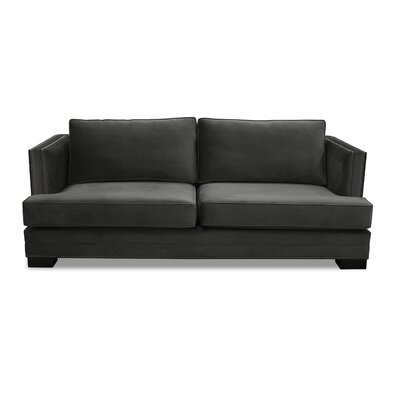 Calais 94 Sofa Upholstery: Pewter