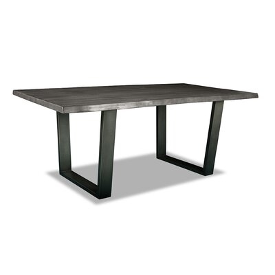 Prague Dining Table 84 Finish: Grey