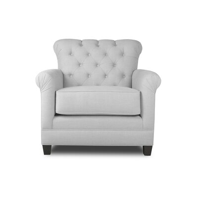 Monza Armchair Upholstery: White