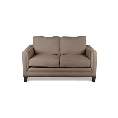 Cannes 60 Sofa Upholstery: Brown