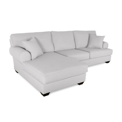 Orleans Sectional Upholstery: White