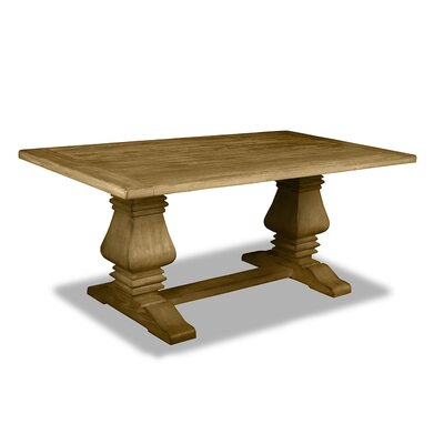 Gendreau Hardwood Dining Table Color: Dry Maple, Size: 84