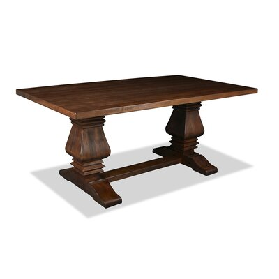 Gendreau Hardwood Dining Table Color: Dry Cognac, Size: 72