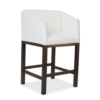 Harber 26 Bar Stool Upholstery: White