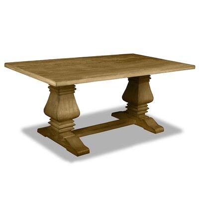 Oswaldo Reclaimed Hardwood Dining Table Finish: Dry Maple