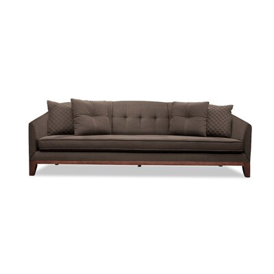 Roy 96 Sofa Upholstery: Coffee