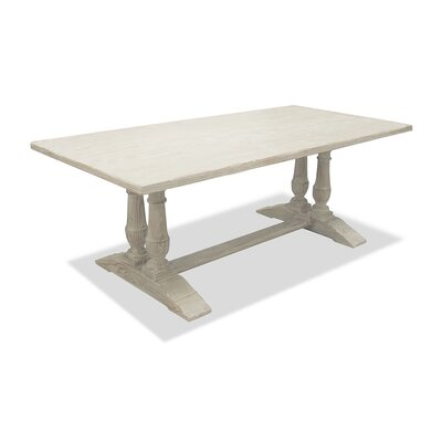 Ankara Dining Table 90 Finish: White