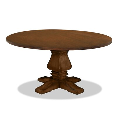 Weston Dining Table Finish: Dry Cognac, Size: 72