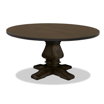 Weston Dining Table Finish: Dry Walnut, Size: 60
