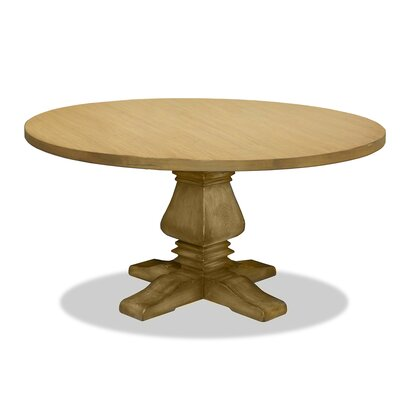 Weston Dining Table Finish: Dry Maple, Size: 60