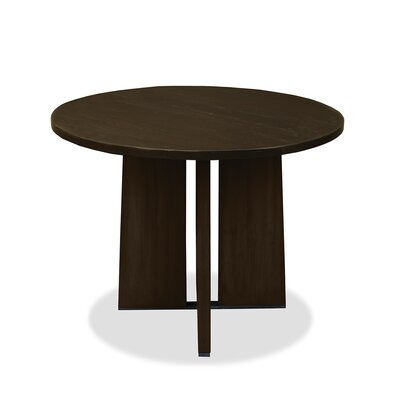 Ninette Pub Table Finish: Dry Walnut, Size: 42 H x 42 L x 42 W