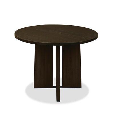Ninette Pub Table Color: Dry Walnut, Size: 42 H x 42 L x 42 W
