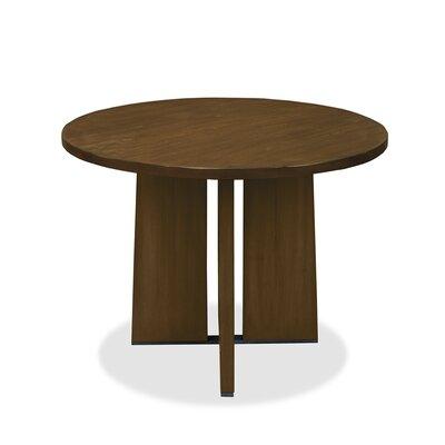 Ninette Pub Table Color: Dry Smoke, Size: 42 H x 48 L x 48 W