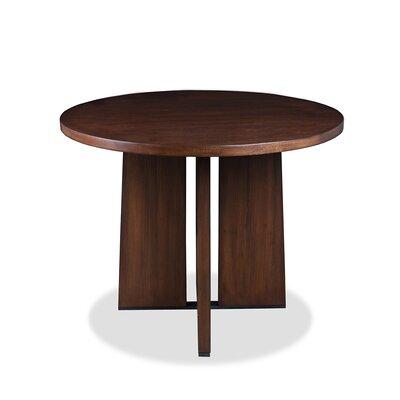 Ninette Pub Table Color: Dry Cognac, Size: 42 H x 48 L x 48 W
