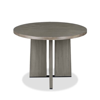 Ninette Pub Table Finish: Dry Cement, Size: 42 H x 48 L x 48 W