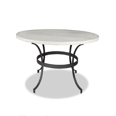 Santa Barbara Dining Table Top Finish: Dry White, Size: 42 H x 48 L x 48 W