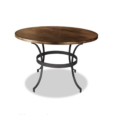 Santa Barbara Dining Table Top Finish: Dry Smoke, Size: 42 H x 42 L x 42 W