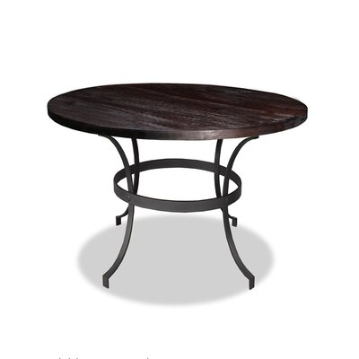 Santa Barbara Dining Table Top Finish: Dry Espresso, Size: 42 H x 42 L x 42 W
