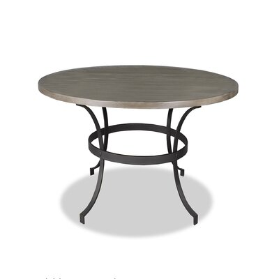 Santa Barbara Dining Table Top Finish: Dry Cement, Size: 42 H x 48 L x 48 W