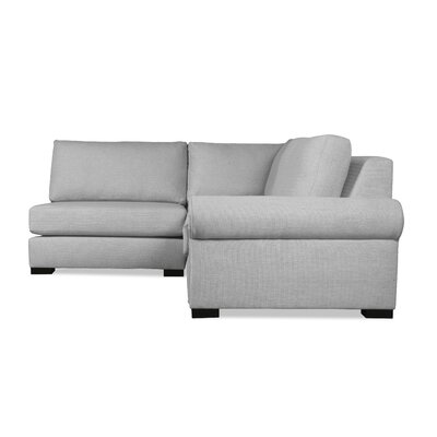Lebanon Sectional Upholstery: Gray, Orientation: Right Hand Facing