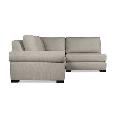 Lebanon Sectional Upholstery: Brown, Orientation: Left Hand Facing