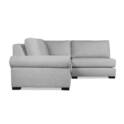 Lebanon Sectional Upholstery: Gray, Orientation: Left Hand Facing