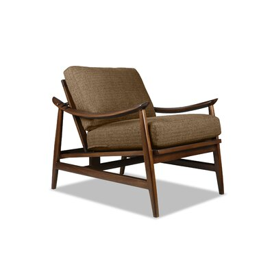 Annabell Recliner Armchair Upholstery: Brown