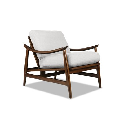 Annabell Recliner Armchair Upholstery: White