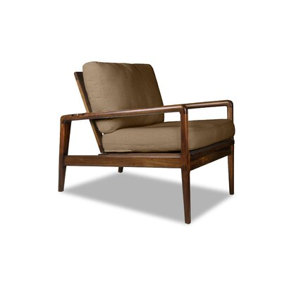 Ayana Recliner Armchair Upholstery: Brown