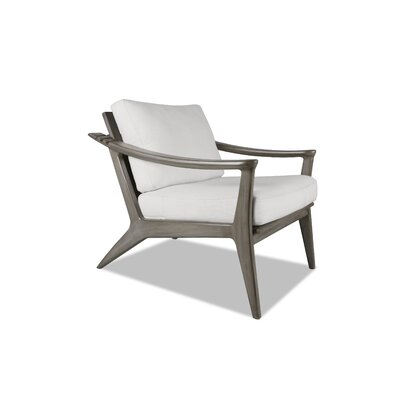 Emmaline Recliner Armchair Upholstery: White