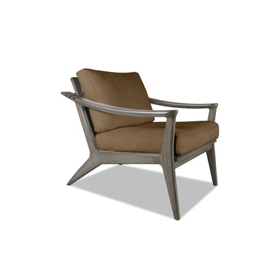 Emmaline Recliner Armchair Upholstery: Brown