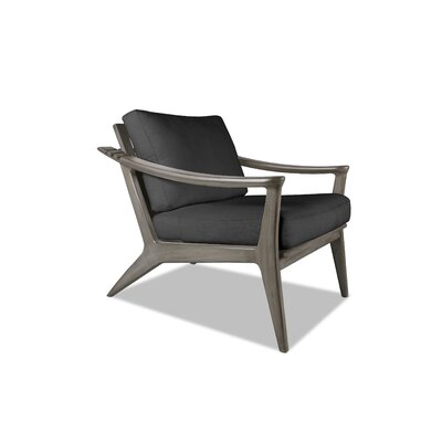 Emmaline Recliner Armchair Upholstery: Charcoal