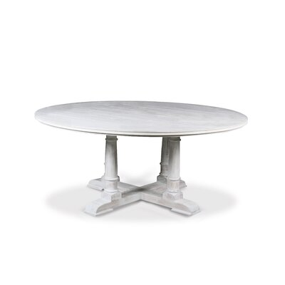Carmel Dining Table 54 Finish: White