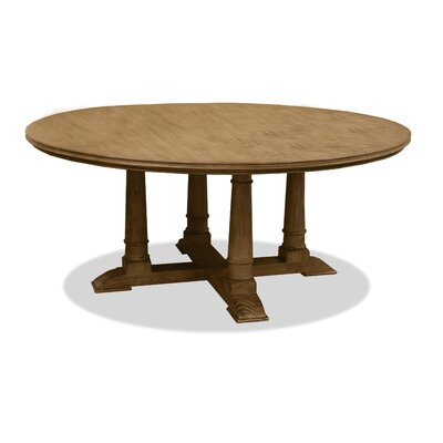 Carmel Dining Table 60 Finish: Smoke