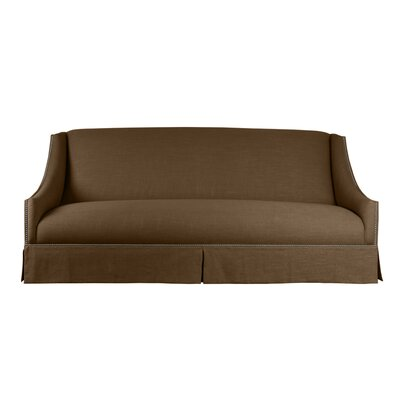 Trento Sofa 95 Upholstery: Brown