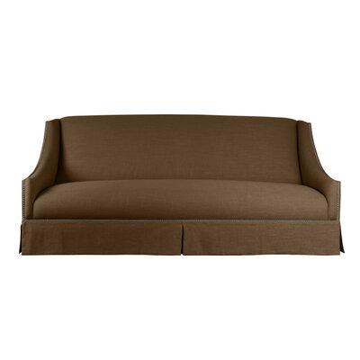 Trento Sofa 95 Upholstery: Brown