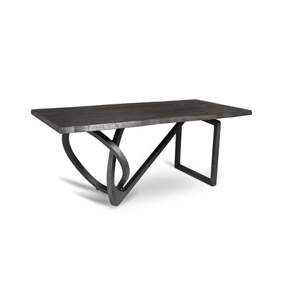 Milano Dining Table 84 Finish: Grey
