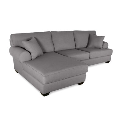 Orleans Sectional Upholstery: Grey