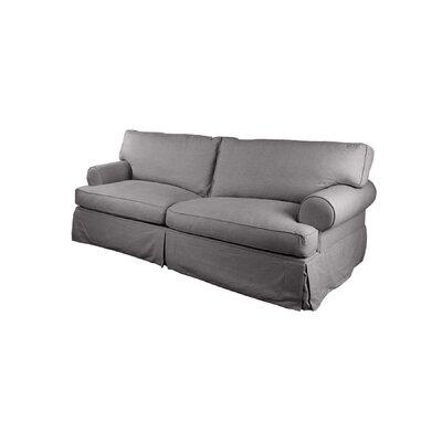 Orleans Slipcover Sofa Upholstery: Grey