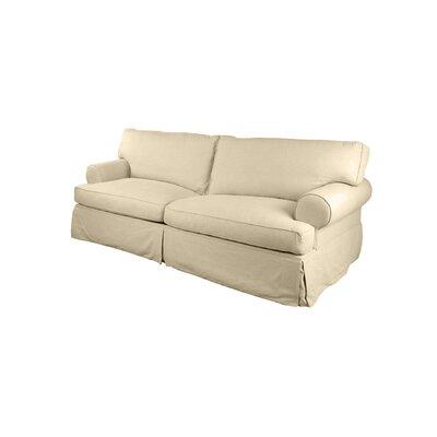 Orleans Slipcover Sofa Upholstery: Sand