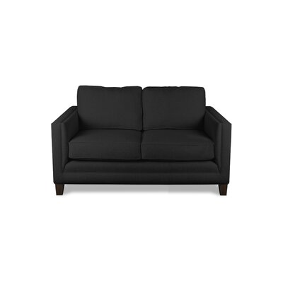 Cannes 60 Sofa Upholstery: Charcoal