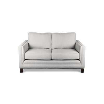 Cannes 60 Sofa Upholstery: White